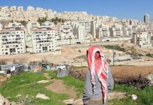 Israeli setllements on Palestinian land