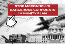 corporations immunity from liability lawsuits