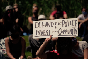 defund police, invest in communities