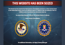 iranian website seized