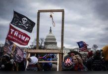 Gallows at Capitol Riot