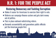 H.R.1 For the People Act