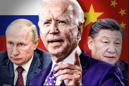 Biden Putin Xi