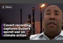 Exxon lobbyist climate legislation